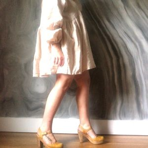 BOHEME GOODS limited edition mini linen dress